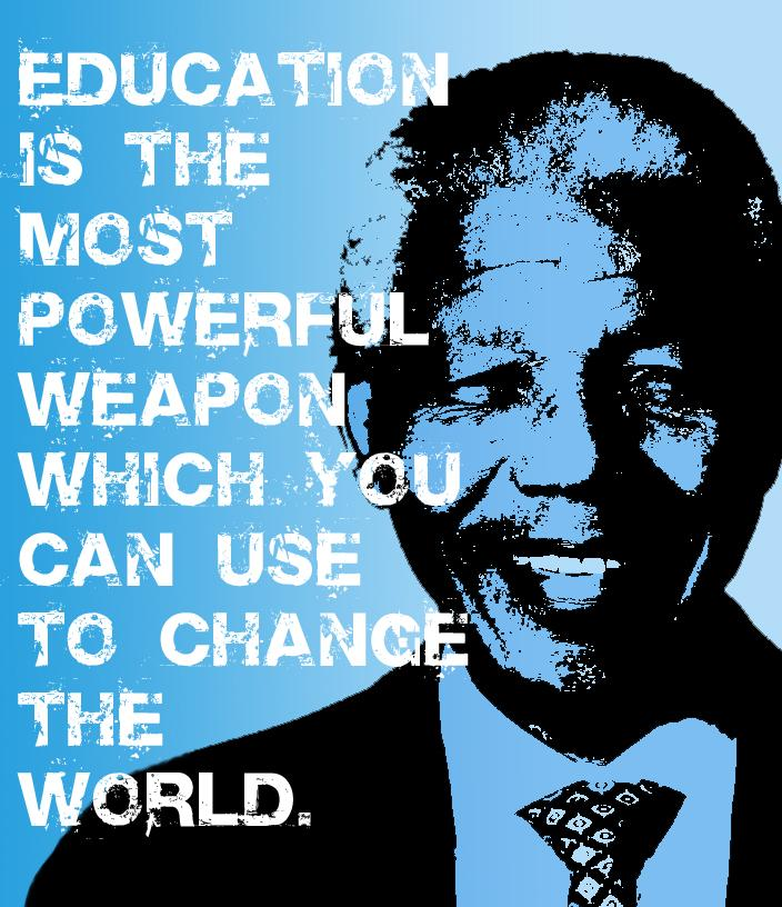 education nelson mandela quote friends of tunisia