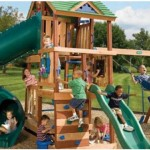playground with children playing